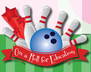 on a roll for education bowling event - register now